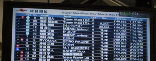 【MAX10第2戦】201706 決勝②